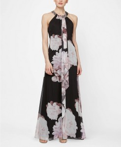 blk straight floral